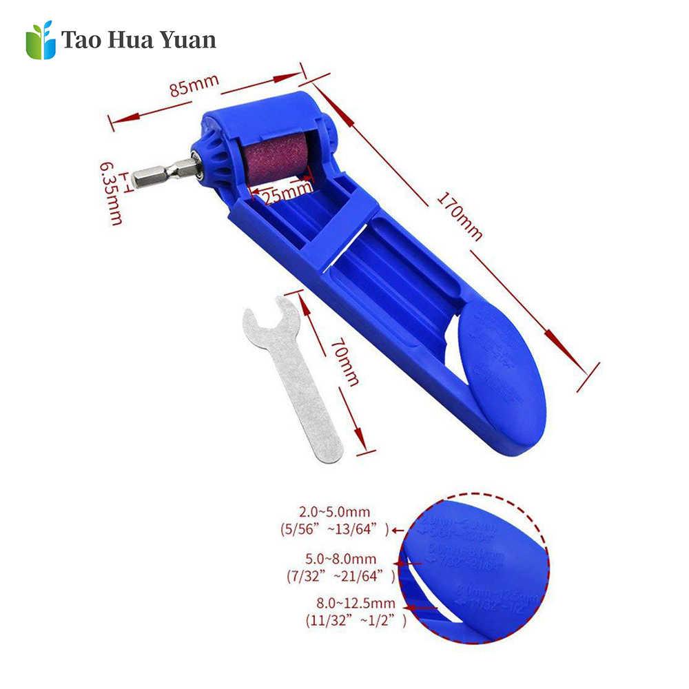 2-12.5 millimetri di Aggiornamento Portatile Punta Del Trapano Temperamatite Corindone Mola Per smerigliatrice Strumenti Temperamatite Trapano Strumento di Potere Accessori
