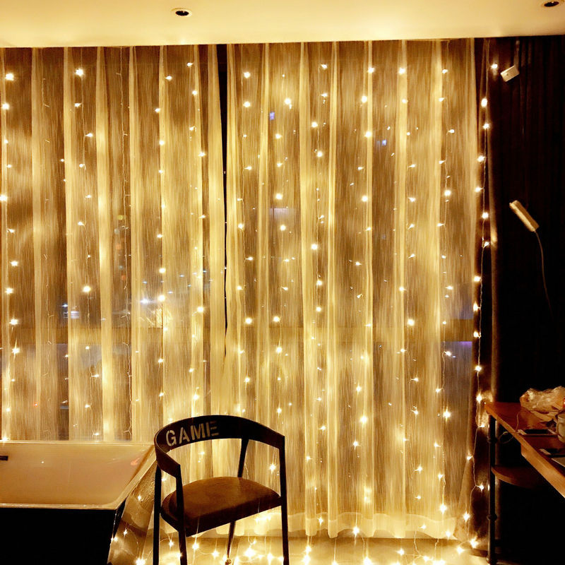 2M/3M/4M/10M Led Wedding Fairy String Light Christmas Light 300 Led Fairy Light Garland For Garden Party Curtain Decoration