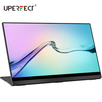 Portable Monitor Upgraded 15.6 Inch IPS HDR 3840x2160 4K Eye Care Screen USB C Gaming Monitor Dual Speaker Computer Display