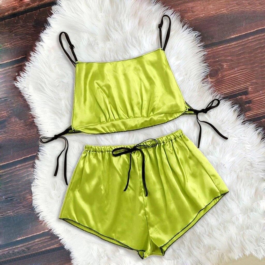 BOZEVON Women Thermal Underwear Set Womens Thin Stretch Casual Pyjamas Set