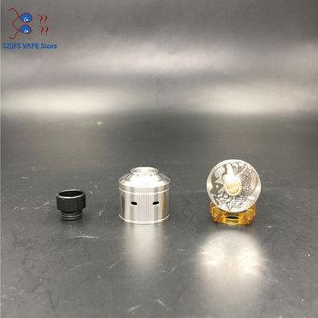 QP Design – atomiseur KALI V2 RDA, diamètre 1:1, 22mm, matériau PC PEI Ecig adapté pour 510 mod, réservoir de vape, VS fatalité, mini Juggerknot