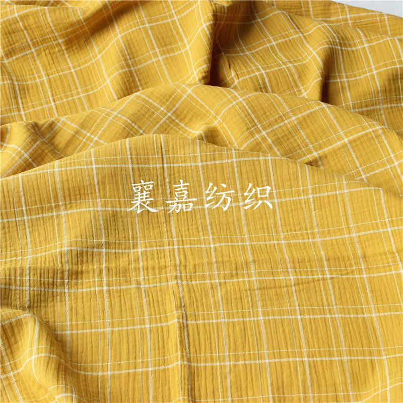 145x50cm Plaid krepa bawełniana seersucker baby dwuwarstwowa gaza koc piżama