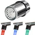 Светодиодный кран ночной Светильник Температура чувствительной 3 цвета атмосферная лампа нет необходимости Батарея для дома Кухня Ванная ...