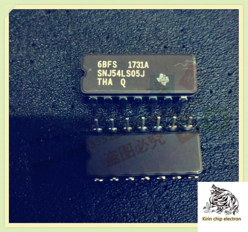 5pcs / lot sn54ls05j 54ls05j cdip-14 six Inverter IC new original