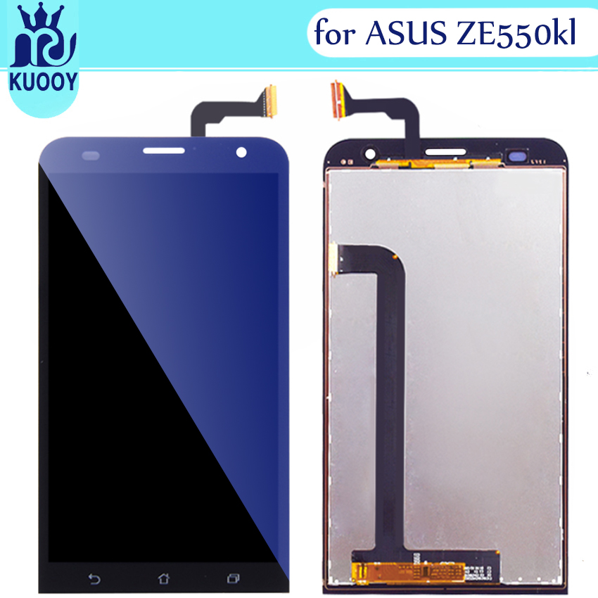New <font><b>LCD</b></font> Touch Panel For ASUS Zenfone 2 Laser <font><b>ZE550KL</b></font> <font><b>LCD</b></font> Display Touch Screen Digitizer Glass Panel Lens image