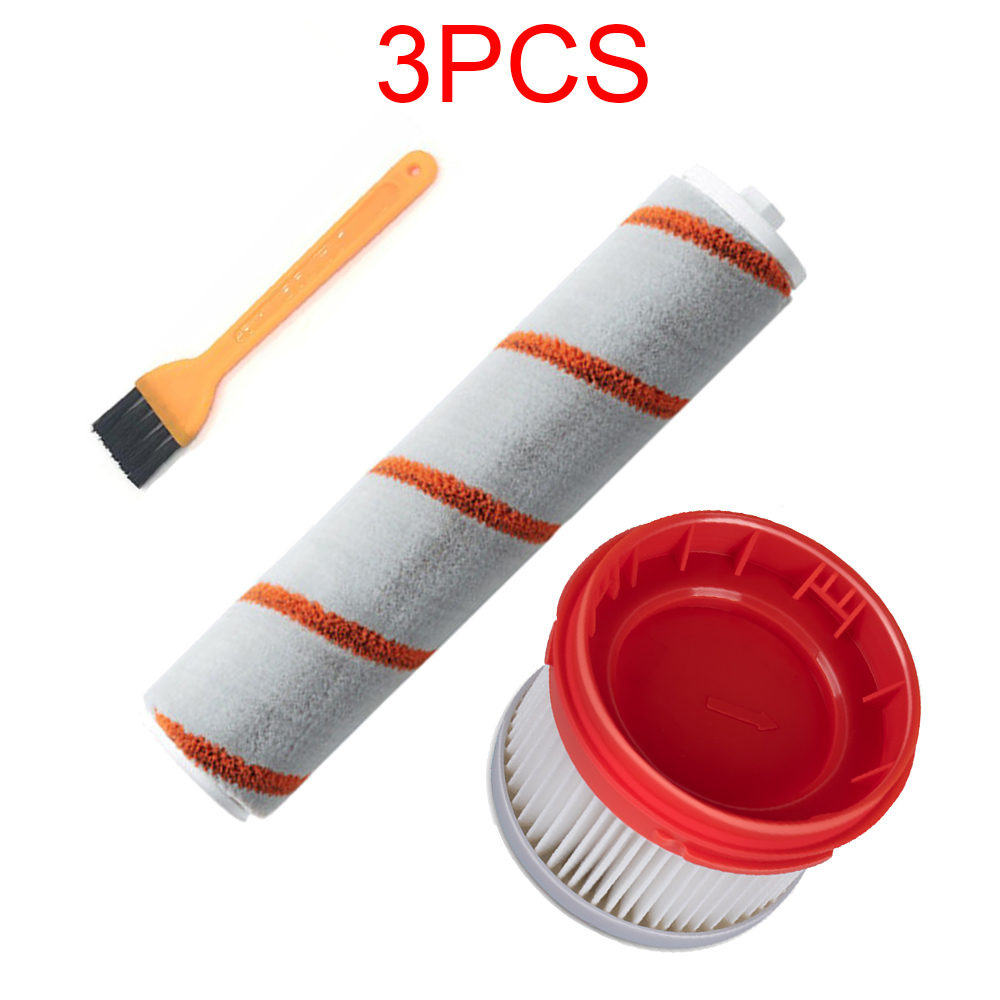 Roller Brush For Xiaomi Dreame V9 Household Wireless Handheld Vacuum Cleaner Accessories Hepa Filter Roller Brush Parts