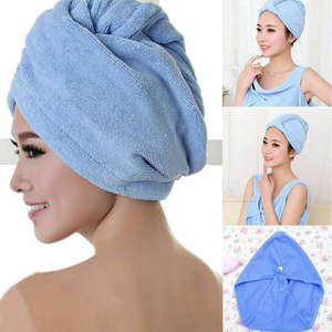 Cap Bath-Towel Hair Microfiber Quick-Drying Magic Soft 5-Colors Dry-Hat Women Lady's