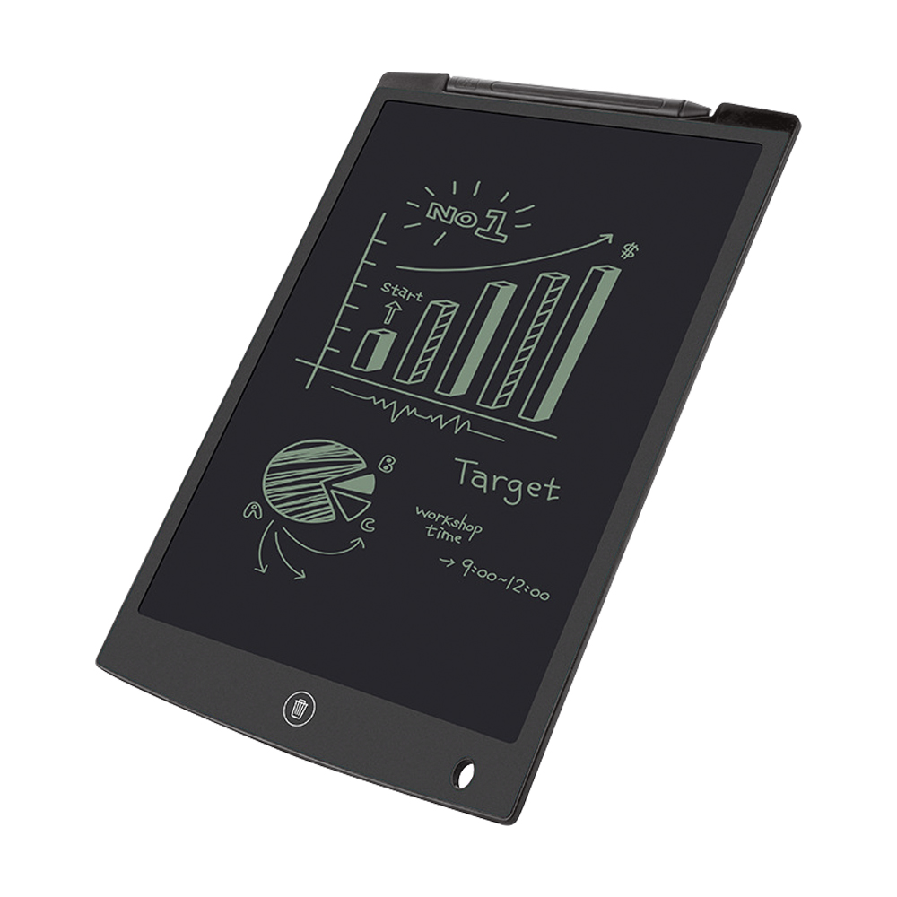 12-inch LCD Writing Tablet Color : Pink Drawing Sketchpad Supports One-Click Clear /& Local Erase,for Writing Pad /& Memo Board Kids Use