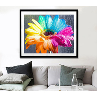 Diy 5d Diamond Painting accessories cross stitch flower Embroidery Full Square/round Drill Rhinestones Abstract flower