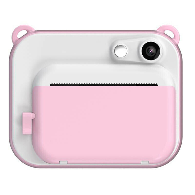 DIY Digital Instant Print Camera Full Color Prints Child Camera for Children Baby Gifts - Pink