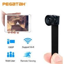 Minicámara de 1080P con Wifi, grabación de vídeo HD, P2P, alarma de detección de movimiento, Control remoto, microcámaras, Wifi con tarjeta TF