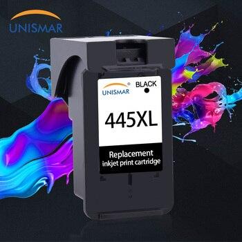 Unismar nuevo PG-445 XL PG-445XL PG445 PG445XL PG 445 445XL cartucho de tinta Compatible para Pixma IP2840 MX494 MG2440 MG2940 MG3040