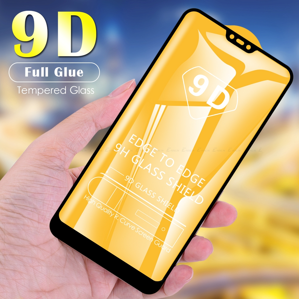 9D Glass For Vivo Y50 Y19 Y17 Y15 Y12 Y11 Y97 Y95 Y93 Y91 Y91C Y90 Y85 Y83 Pro Y81 Y81i Tempered Glass Screen Protector Film
