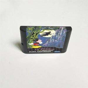 Image 2 - Kasteel Van Illusion Starring Mickey Eur Cover Met Doos 16 Bit Md Game Card Voor Sega Megadrive Genesis video Game Console