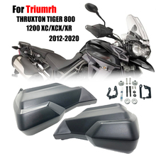 Motocicleta Guardas de Mão Handguard Escudo Extensão serve Para Triumrh THRUXTON 800 TIGER 1200 XC/XCX/1200XC XR 2012 2020 2018 2019