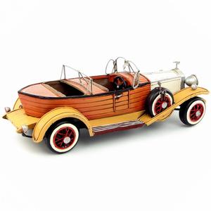 Image 5 - Antique classical British car model retro vintage wrought  metal crafts for home/pub/cafe decoration or birthday gift