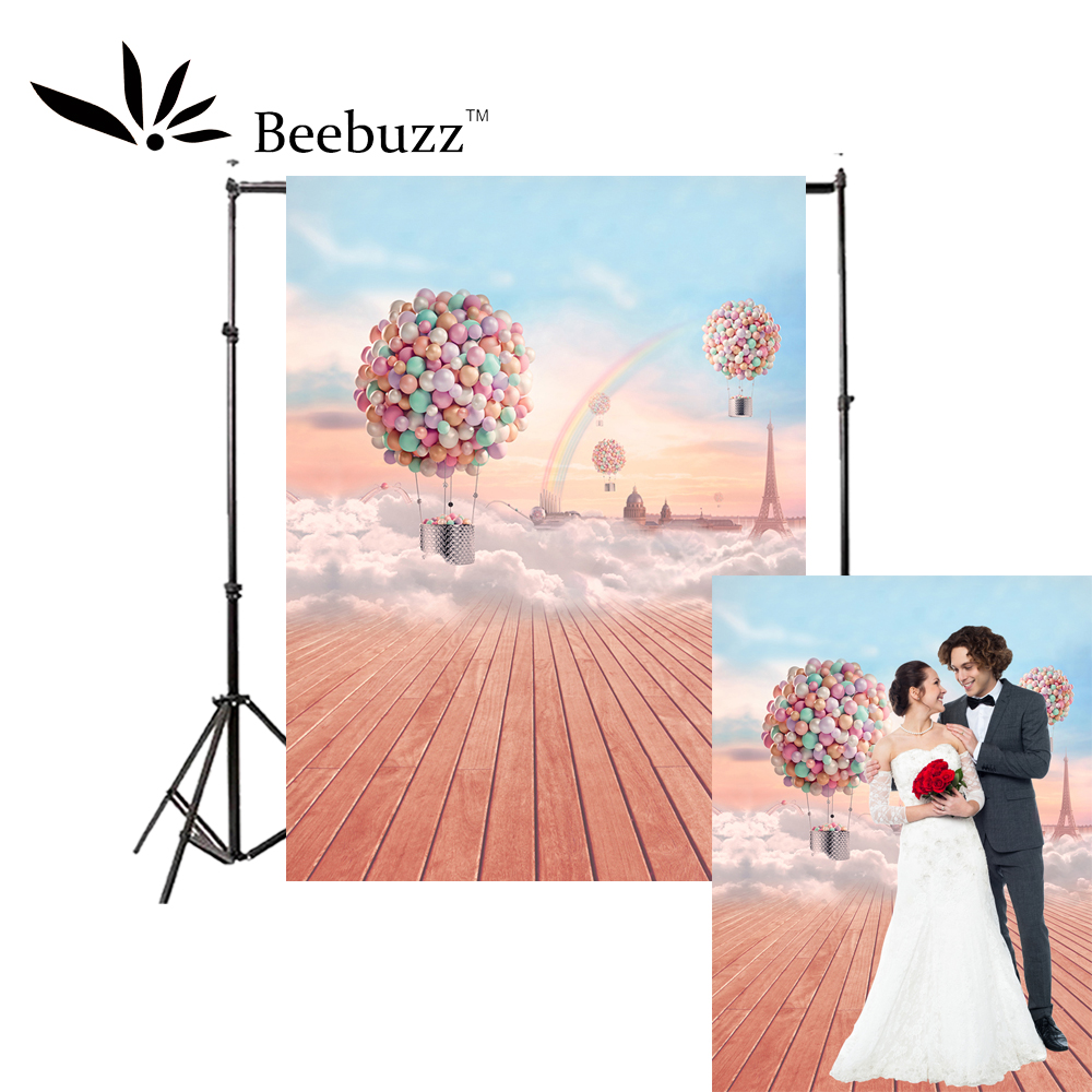 Beebuzz photo backdrop colorful balloon romantic background couple,travel,wedding