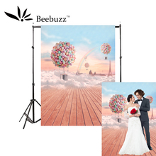 Beebuzz photo backdrop colorful balloon romantic background couple,travel,wedding