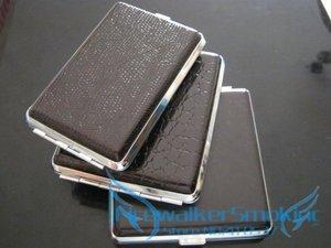 New 1pcs Fashion 12/16/18/20Pcs Pu Leather Cigarette Case Cigarette Box Holder Man's Gift(China)