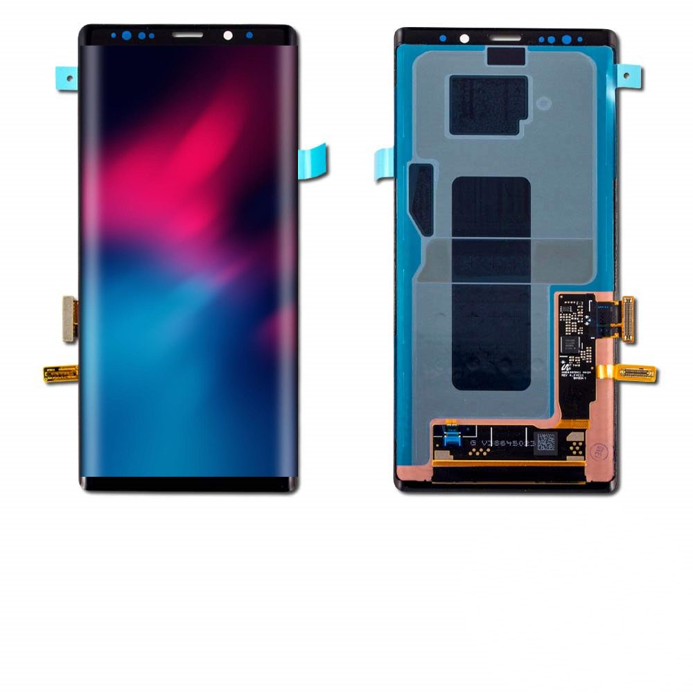 ORIGINAL SUPER AMOLED 6.4'' LCD For SAMSUNG GALAXY Note 9 Note9 N960F Display Touch Screen Digitizer Assembly With Two Small Dot