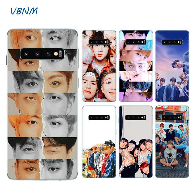 Kore popüler KPop takımı telefon kılıfı için Samsung Galaxy S20 + S20 S10 S9 S8 artı S10E S6 S7 kenar not 8 9 10 Pro Fundas kapak