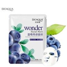 bioaqua  mask sheet whitening skin lifting face masks care anti aging wrinkle masker beauty agless 1pcs