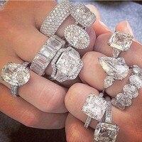 choucong Customized Diamond Jewelry ring