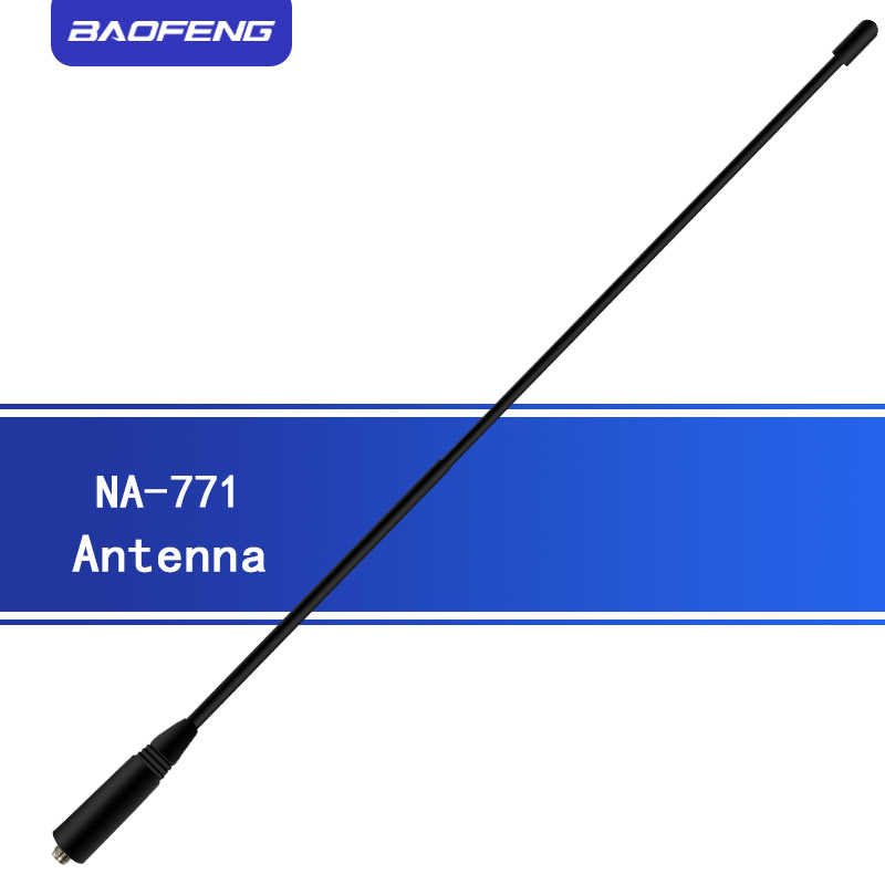 Baofeng NA-771 Antenna SMA-F Walkie Talkie Gain Antenna Signal Extend NA771 Universal Portable Radio For UV-9R UV9R PLUS