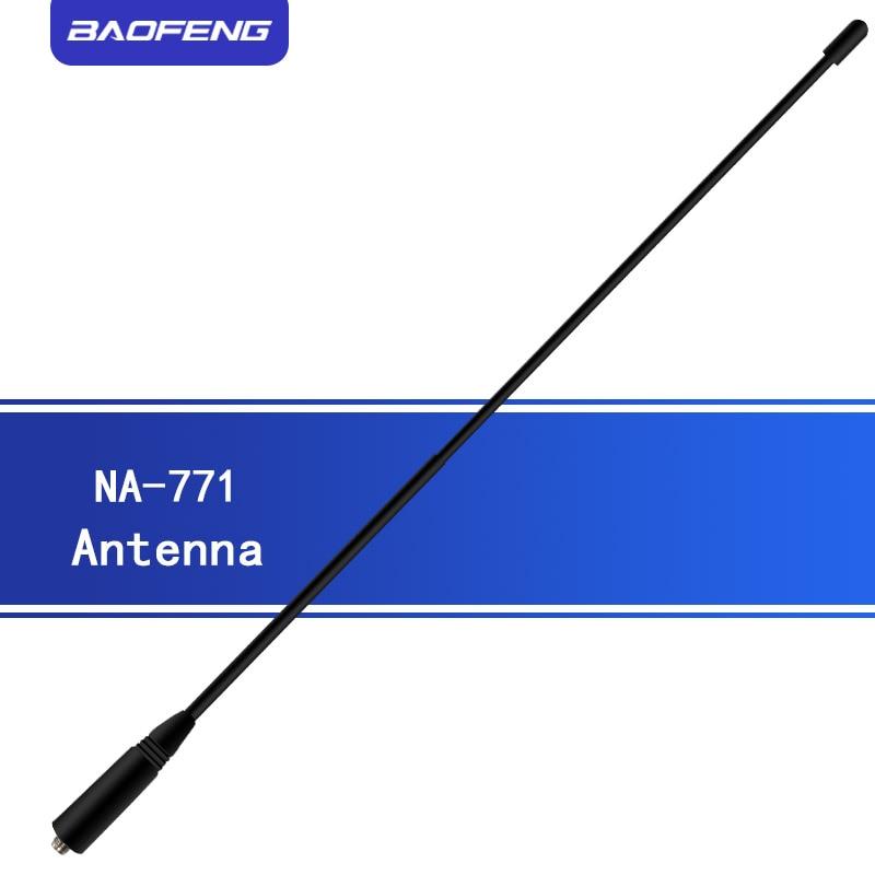 Baofeng NA-771 Antenna SMA-F Walkie Talkie Gain Antenna Signal Extend NA771 Universal Portable Radio For UV-9R UV9R PLUS