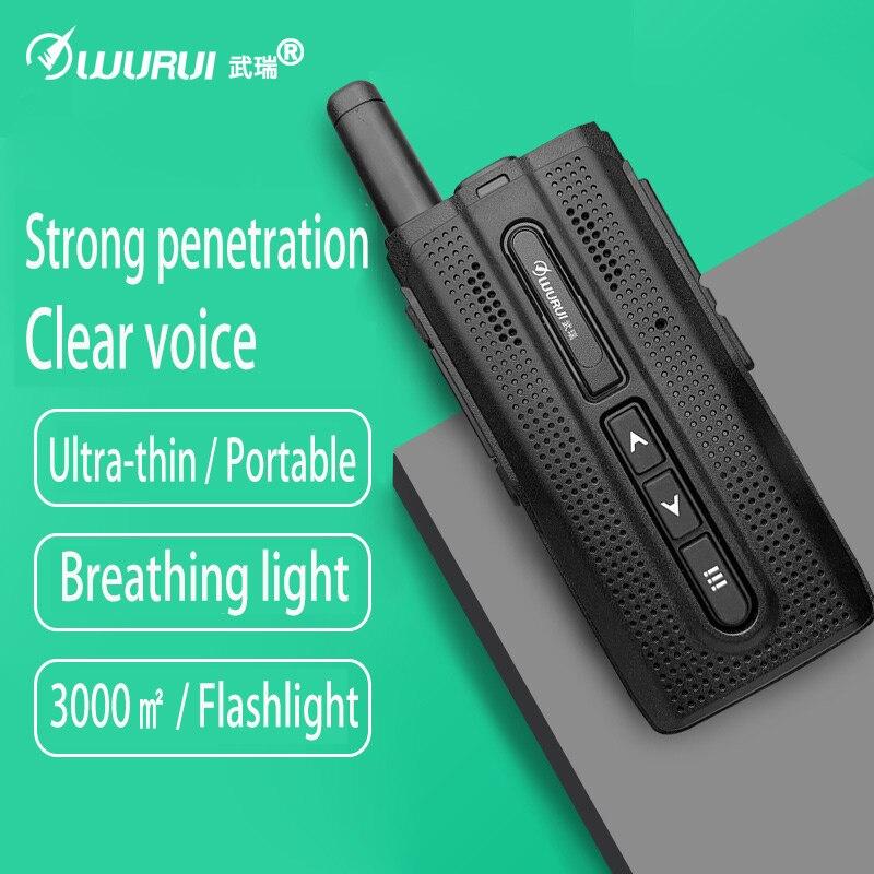 2pcs Portable Walkie-Talkie With Flashlight UHF 400-480MHz CB Radio Station 10km Ham Amateur Police Scanner Radio FM Transceiver