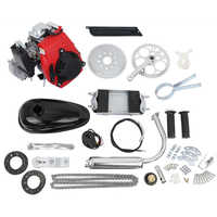 Samger 49cc Kit de motor de bicicleta de 4 tiempos para bicicleta eléctrica DIY ATV bicicleta de bolsillo gasolina motor completo para bicicleta