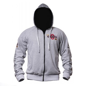 Image 4 - 2019 New OLYMPIA Men Gyms Hoodies Gyms Fitness Bodybuilding Sweatshirt Pullover Sportswear Male Workout Hooded Jacket Clothing
