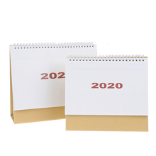 New Hot Sale Agenda 2020 Desk Calendar Planner Table Calendar Weekly Planner Monthly To Do List Desktop Calendar Office Supplies 2019 table calendar 2018 weekly planner monthly plan to do list desk calendar daily rainlendar simple style desktop calendar