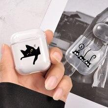 Роскошный чехол для airpods apple мягкий прозрачный защитный