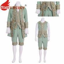 CostumeBuy Marie Antoinette Косплей Костюм принцессы 18 век Британский мужской Камуфляжный костюм взрослые дети рококо аристократический костюм L92