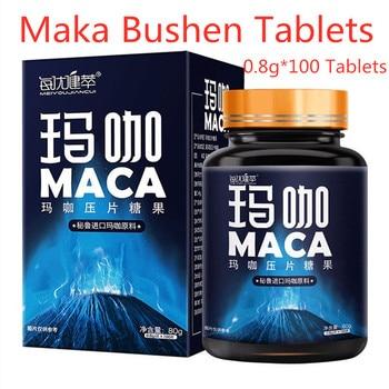 Tabletas de maca negra peruano, 0,8g * 100 tabletas, Maca, usadas para...