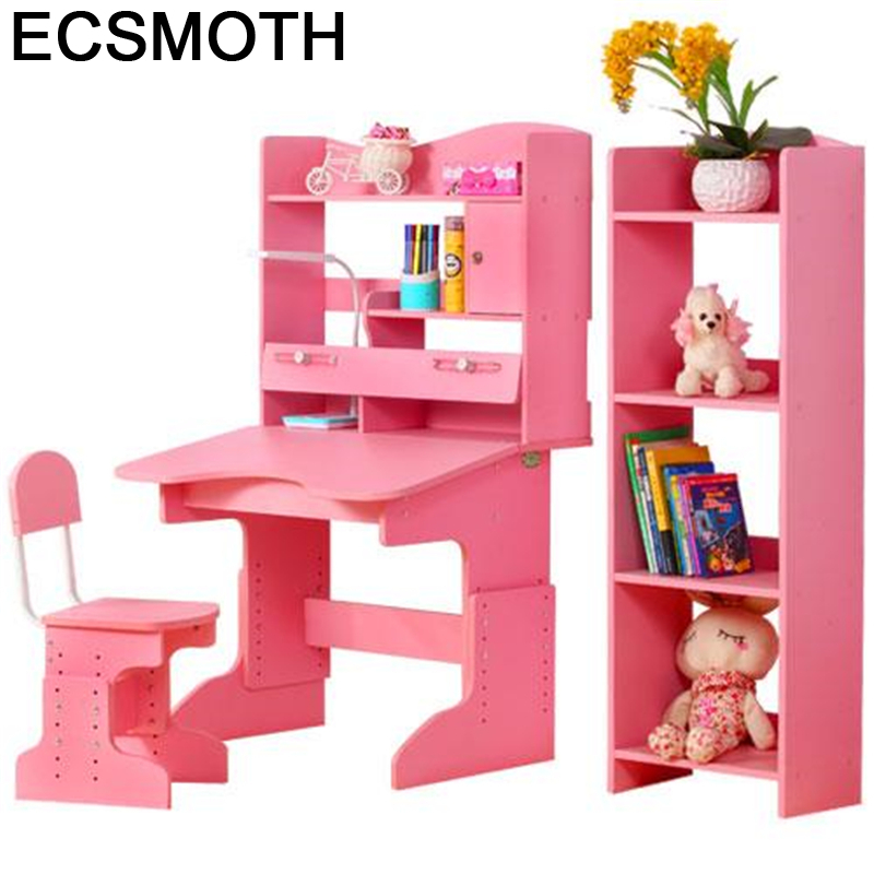 Infantiles Infantil Estudar Cocuk Masasi Tavolino Bambini Estudiar Tableau Enfant Wood Desk Mesa Escritorio Study Table For Kids