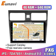 Eunavi 2 DIN Android 9.0 for SUZUKI SWIFT 2005-2016 2din Car Radio Stereo Multimedia video player GPS Navigation IPS Headunit bt(China)