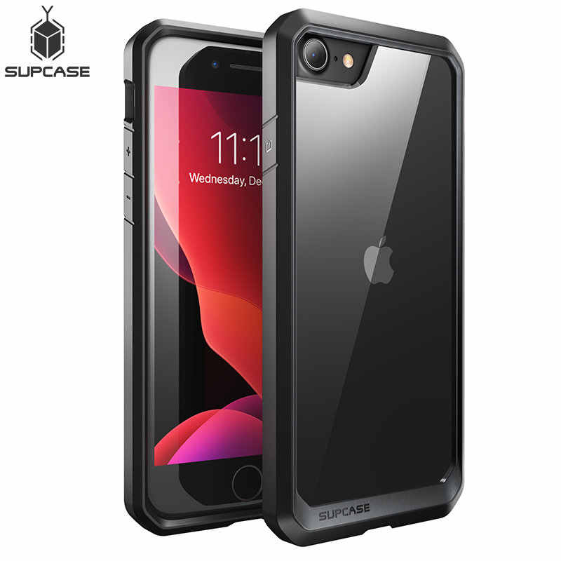 SUPCASE For iphone 7 8 Case For iPhone SE 2020 Case 4.7 UB Series Premium Hybrid Protective TPU Bumper + Clear PC Back Cover