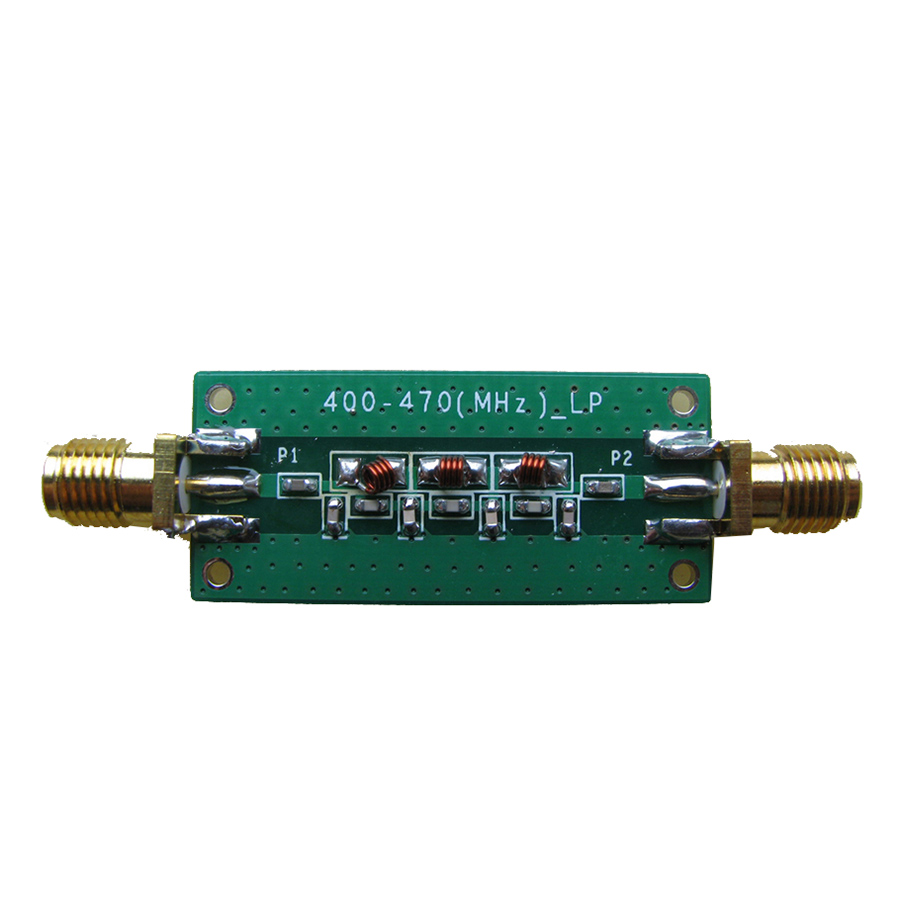 433MHZ -5~0dBm Low Pass Filter LPF 2.4GHZ~2.6GHZ