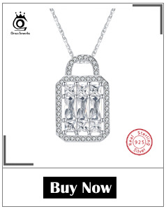 Hb99065b404534436bf83f931d6a3743ei ORSA JEWELS 100% Real 925 Sterling Silver Pendants& Necklaces Shiny AAA Cubic Zircon Star Shape Women Fine Jewelry SN82