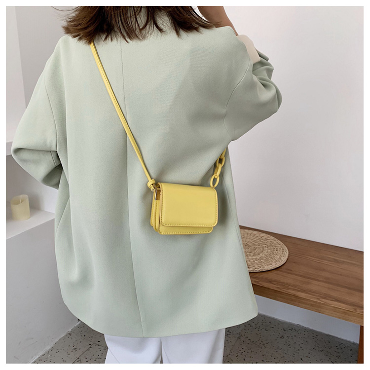 Five Colors Of SweetsRetro Mini Bags For 2020 Small Chain Handbag Small Bag PU Leather Hand Bag Ladies Shopping Bags (14)