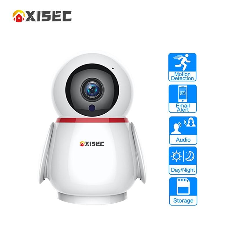 3MP/2MP Penguin Case Cloud Storage Onvif Wifi Ip Camera Indoor Smart Home RJ45 Port