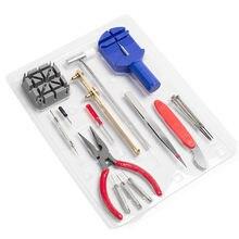 16 шт часы набор инструментов для ремонта ремешок жидкость снятия