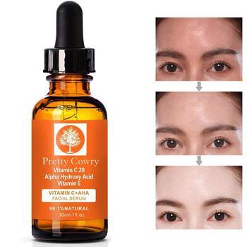 30ml Pretty Cowry Natural Face Serum Hyaluronic Acid Anti Wrinkle Vitamin C Skin Care Face Serum 1