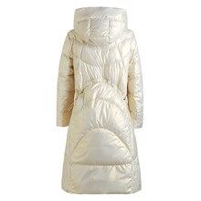Abrigo de algodón para mujer, Parkas sueltas, abrigo cálido y grueso de invierno, abrigo de manga larga oversize, prendas de vestir exteriores acolchadas, novedad