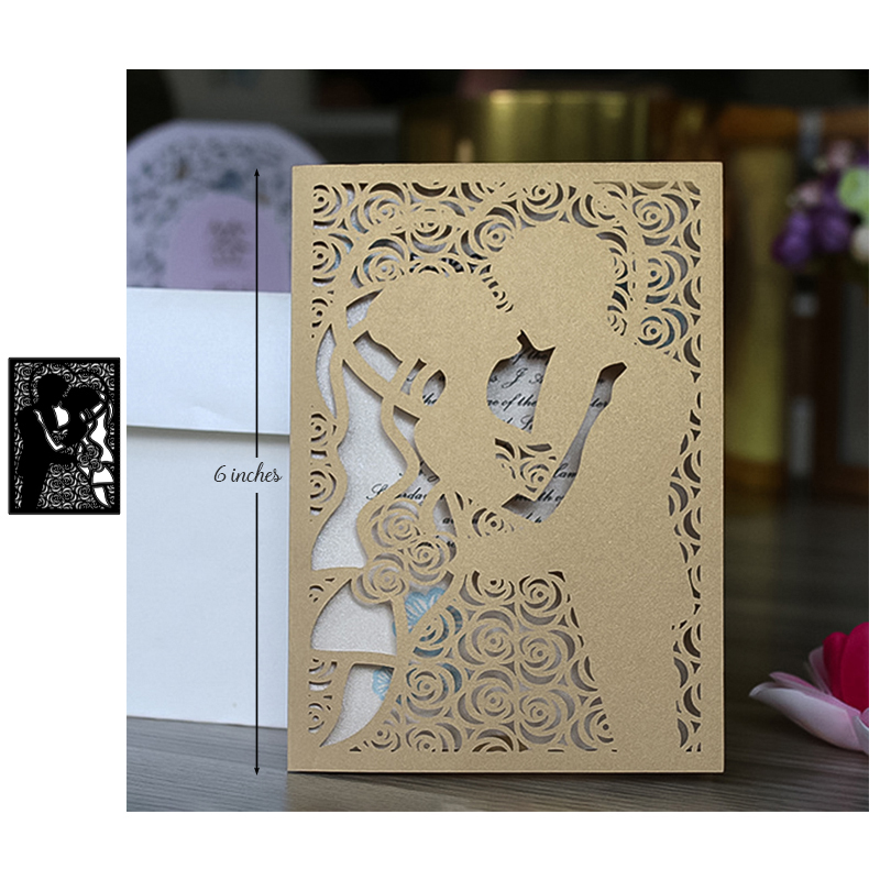 Couple Metal Cutting Dies Scrapbooking New 2019 Craft Die Cut DIY Home Decorative for Card Making Wedding invitation in Cutting Dies from Home Garden