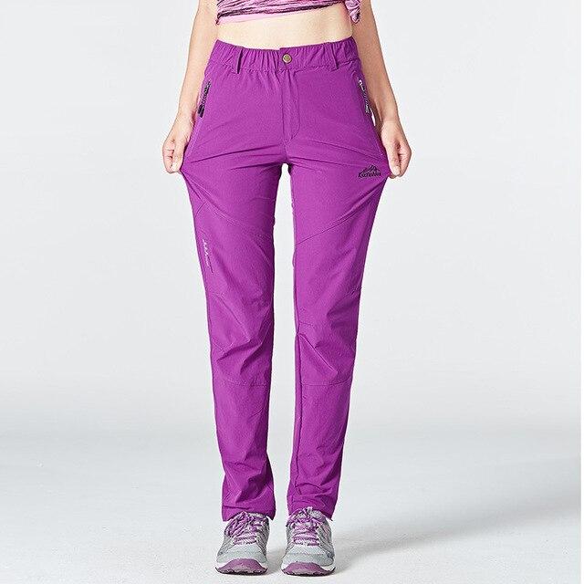 Походные женские штаны лёгкие и непромокаемые с карманами 5