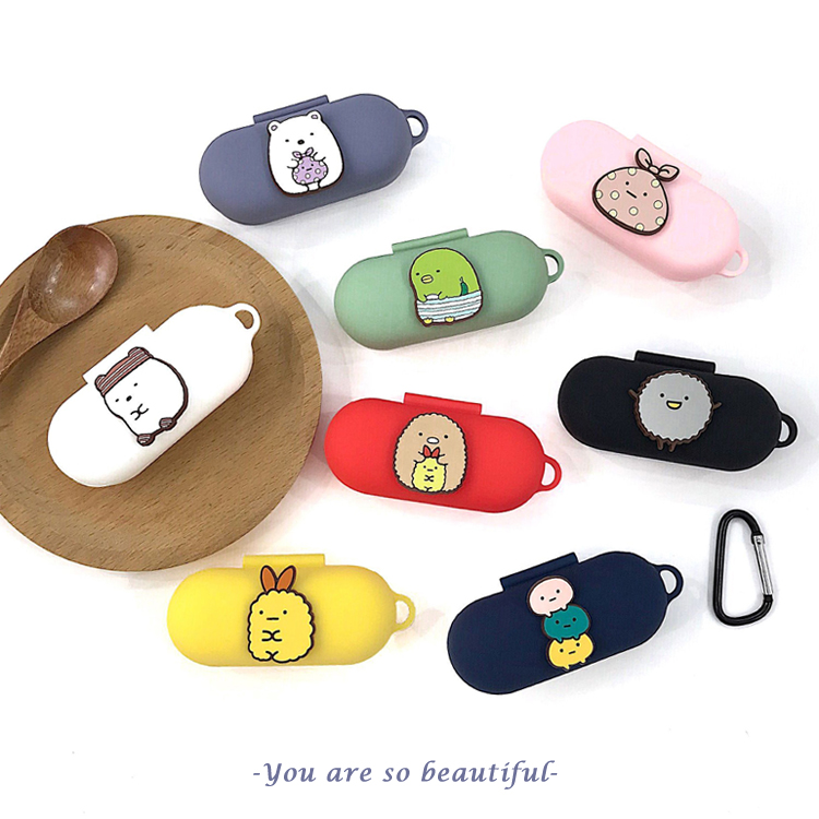 Cute Case For Huawei FreeBuds For Honor Flypods Lite Youth Version Silicone Earphone Pouch Cover Soft Protect Case With Hook