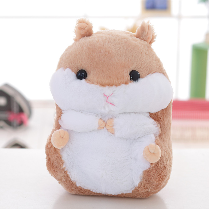 Adorable Hamster Plush Toys Soft Stuffed Animals Toys  Vivid Hamster Big And Cheap For Wholesale And Gifts